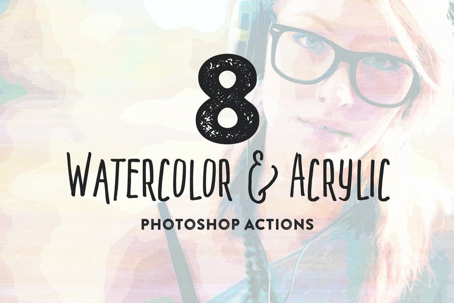 8 Watercolor and Acrylic Painting FX