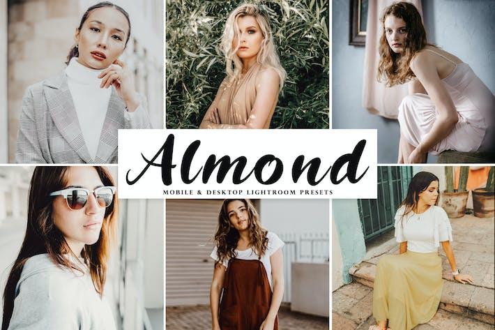 Almond Mobile & Desktop Lightroom Presets