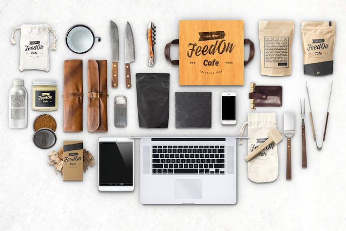 Cover Image For Hero Kitchen Essentials Mockup Creator