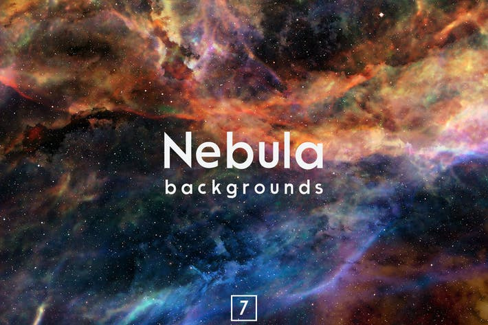 Thumbnail for Nebula Backgrounds Vol.7