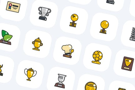 50 Award Icons