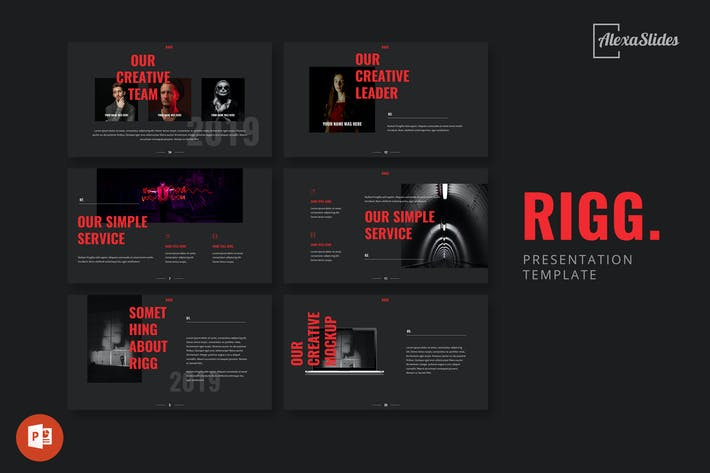 Thumbnail for Rigg - Powerpoint Presentation Template