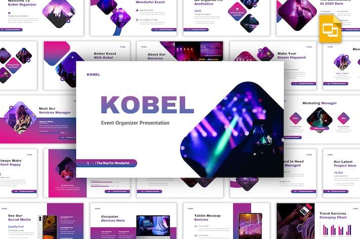 Thumbnail for Kobel - Event Organizer Google Slides Template