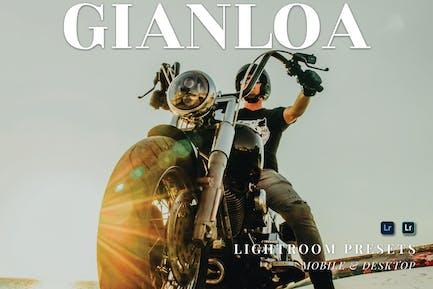 Gianloa Mobile and Desktop Lightroom Presets