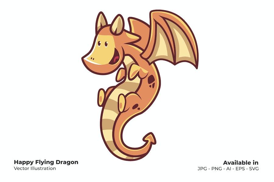 Happy Flying Dragon