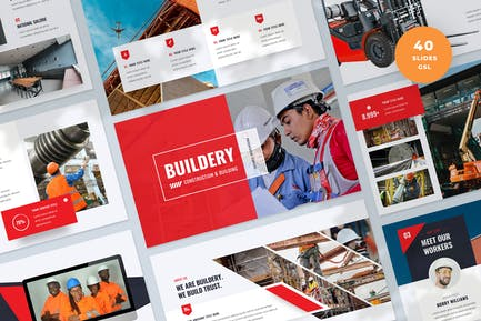Construction and Building Slides Template