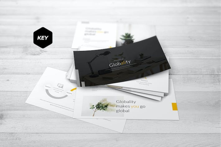 Thumbnail for Globality - Keynote Template