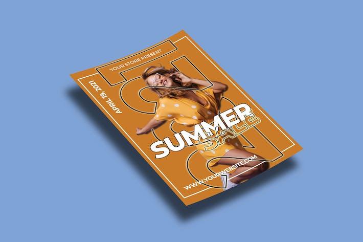 Summer Sale – Flyers Template
