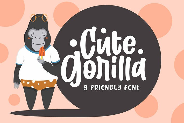 Thumbnail for Cute Gorilla