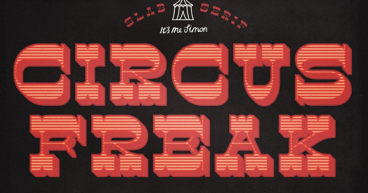 Download Circus Freak Font by simonok