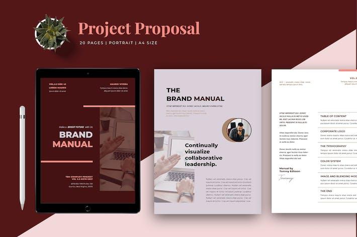 Thumbnail for Markenhandbuch Vorlage