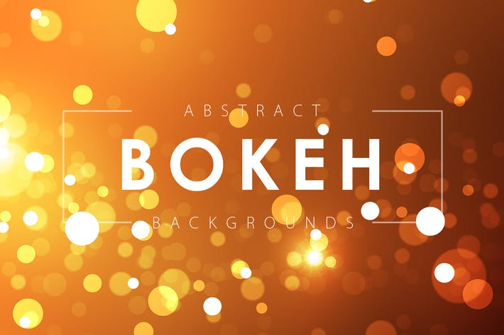 Bokeh Effect Backgrounds
