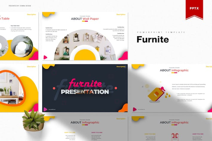 Thumbnail for Furnite | Powerpoint Template
