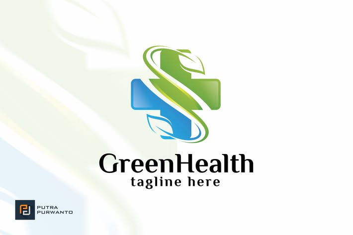 Thumbnail for Green Health - Logo Template