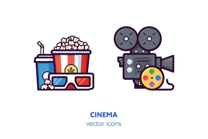 Thumbnail for Cinema icons