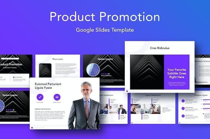 Thumbnail for Продвижение продукта Шаблон слайдов Google