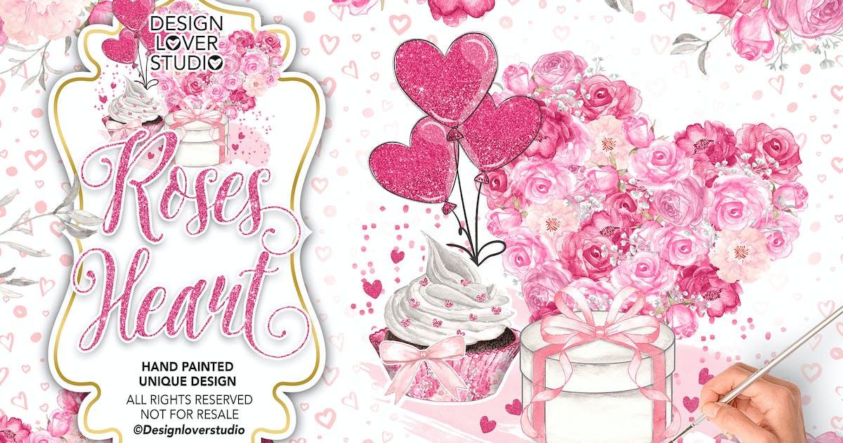 Download Roses Heart design by designloverstudio