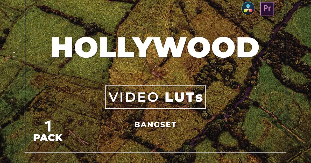 Download Bangset Hollywood Pack 1 Video LUTs by Bangset