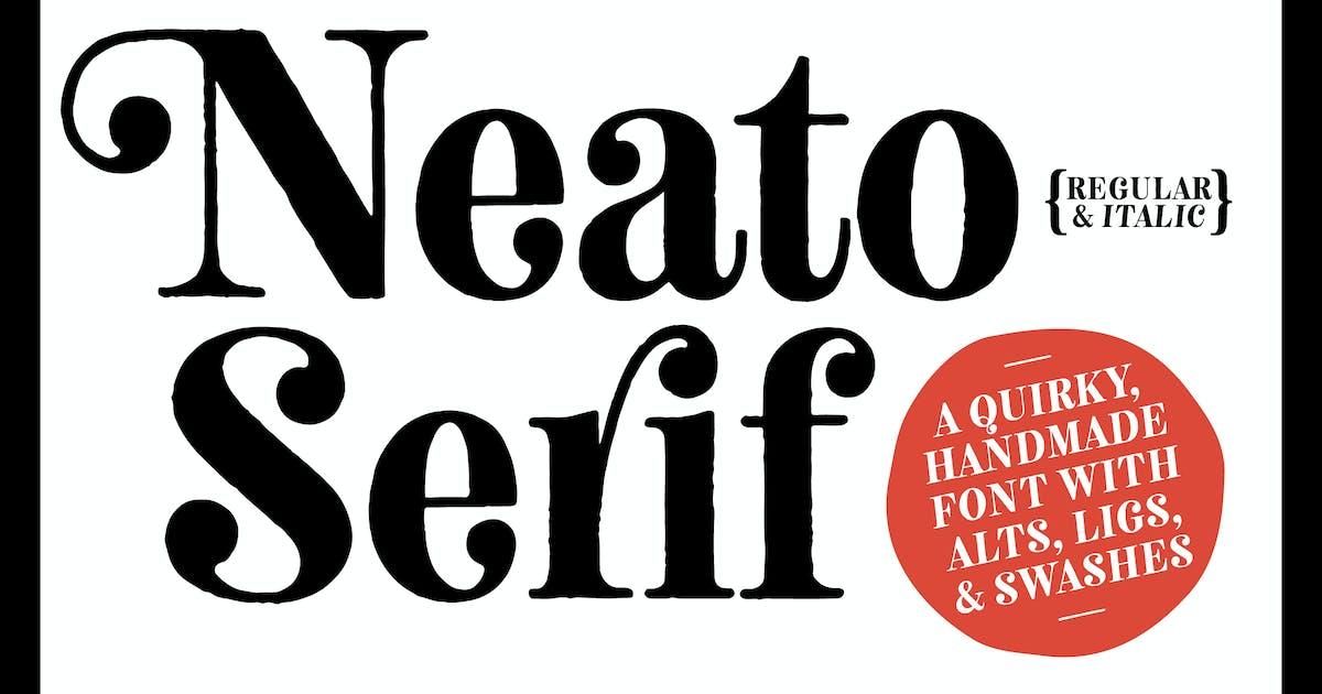 Download Neato Serif Font Family by adamladd