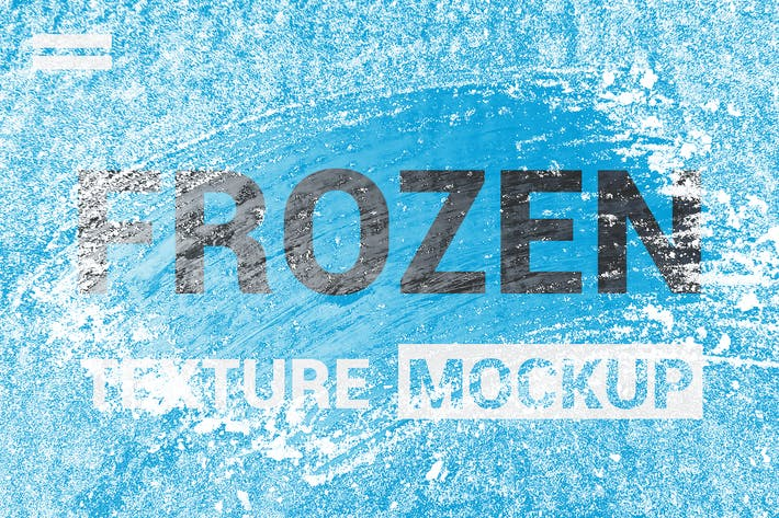 Thumbnail for Ice Frozen Texture Mockup