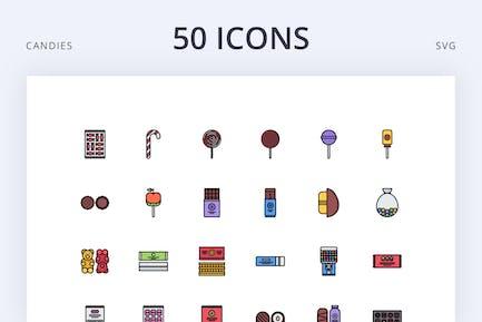 Candies 50
