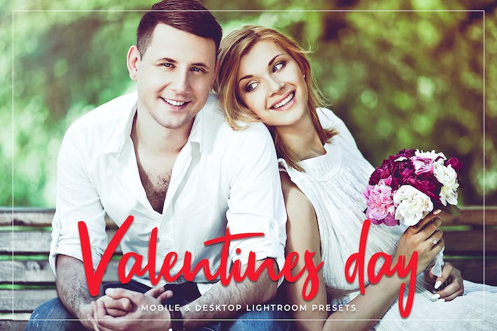 Thumbnail for Valentines Day Mobile & Desktop Lightroom Presets