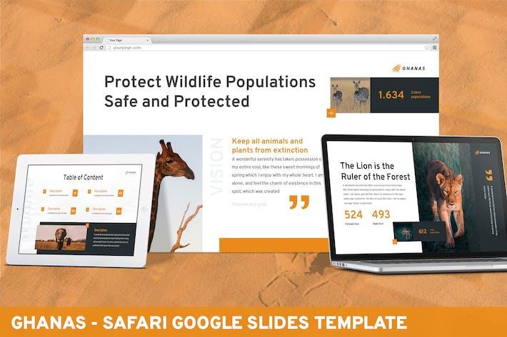Ghanas - Шаблон слайдов Google Safari