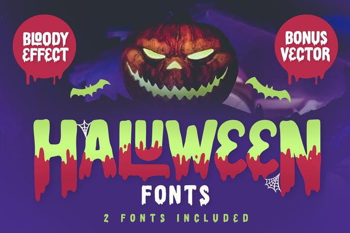 Thumbnail for Haluween Fonts