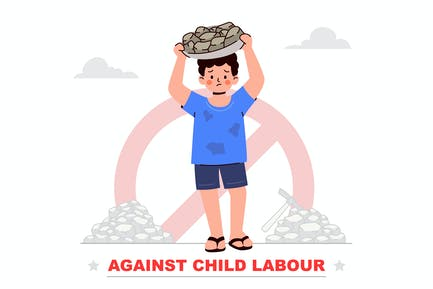 Contre le travail des enfants