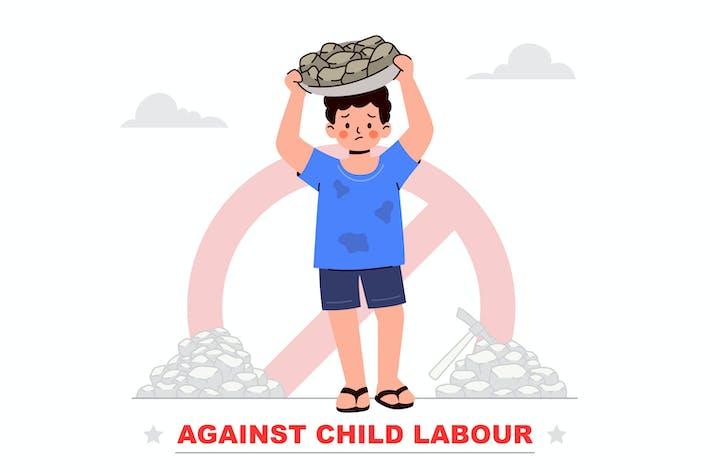 Against Child Labour