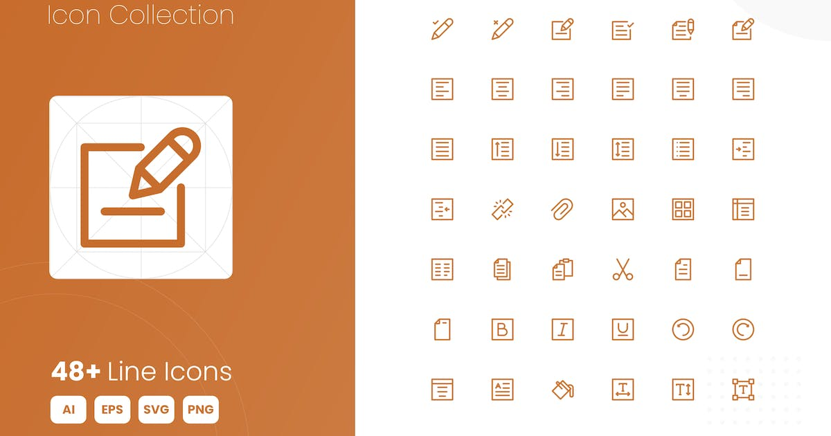Download 48 Write Icon Collection by studiotopia