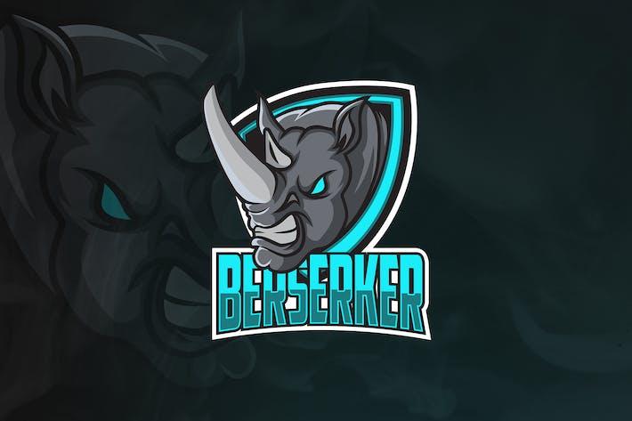 Thumbnail for Berserker - Animal Mascot & Esport Logo V.2