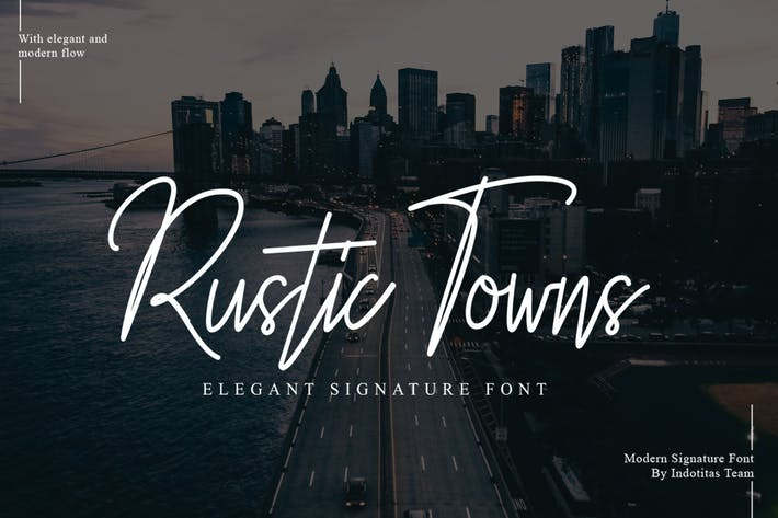 Cover Image For Rustic Towns