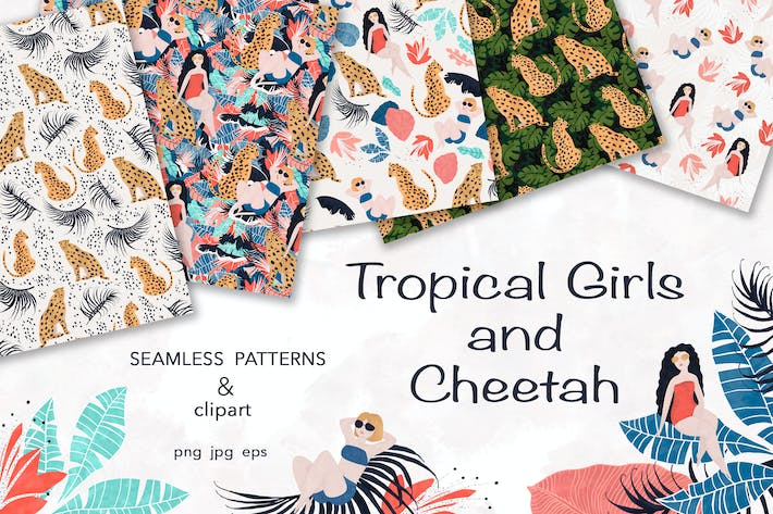 Thumbnail for Tropical Girl and Cheetah