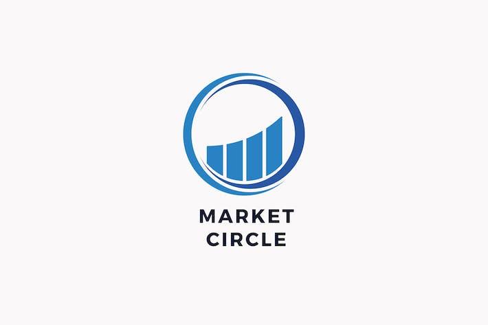 Market Circle Logo Template