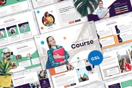 Course - University Googleslide Templates