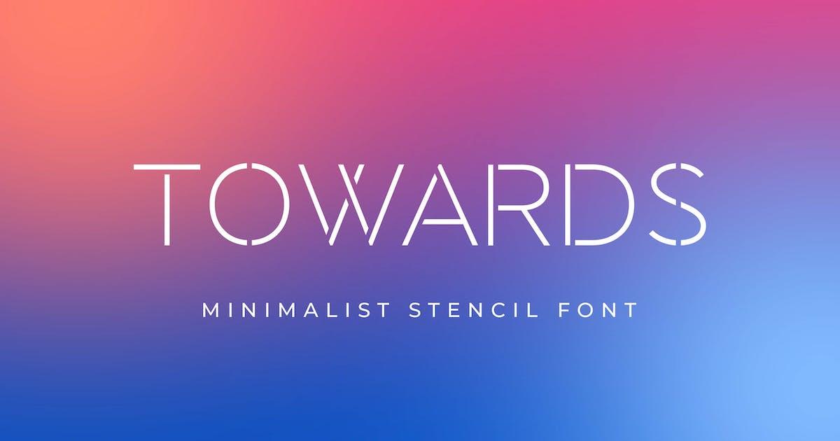Download Towards - Minimalis Stencil by Alterzone