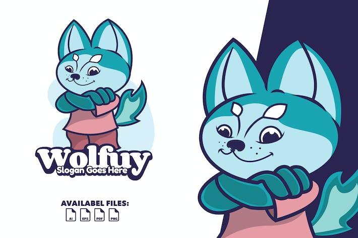 Thumbnail for Wolfuy - Logo Mascot