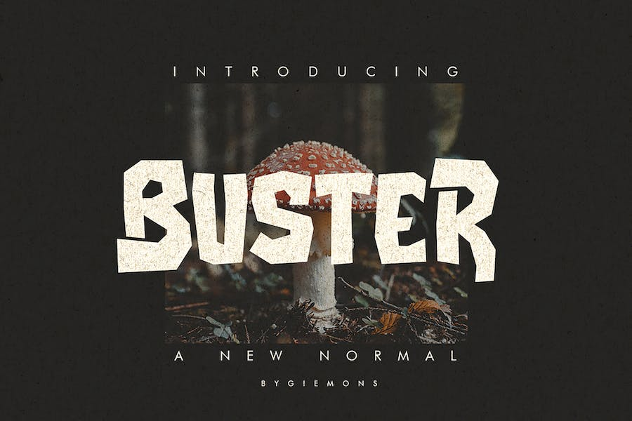 Buster Typeface