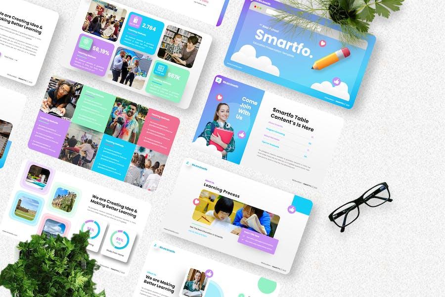 Smartfo - Education Creative Googleslide Template