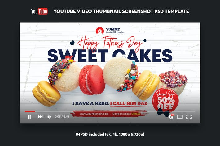 Thumbnail for Cakes Shop YouTube Video Thumbnail Screenshot