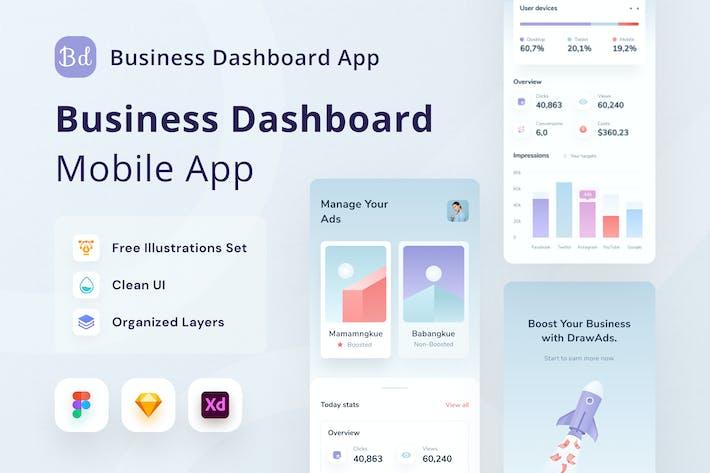 Thumbnail for Business Dasboard App