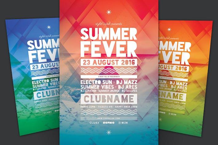 Thumbnail for Summer Fever Flyer