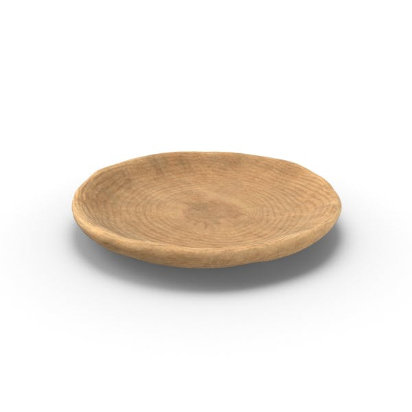 Cover Image for Wooden Plate