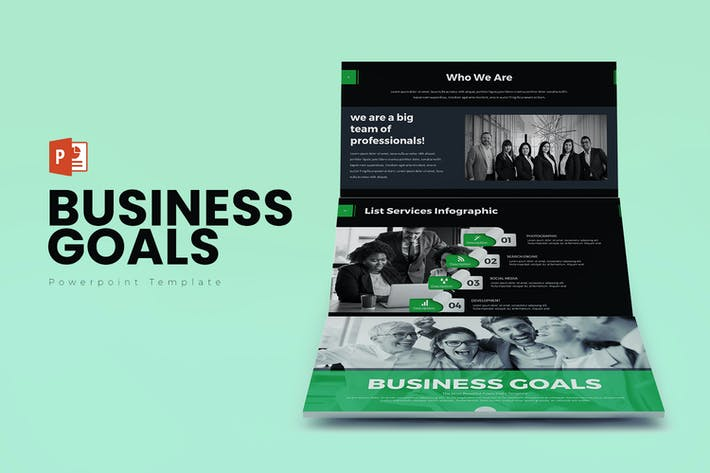 Thumbnail for Business Goals PowerPoint Presentation