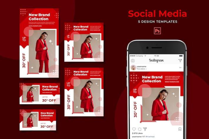 Thumbnail for Sale Social Media Pack