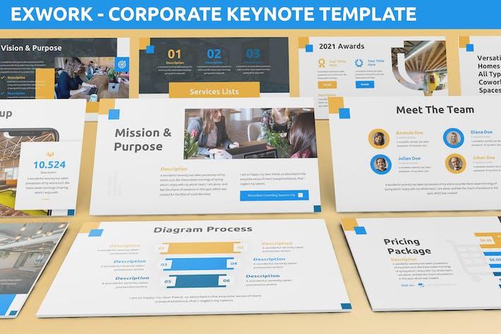 Exwork - Corporate Keynote Template