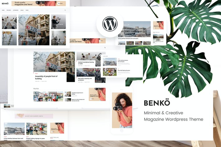 Benko - Creative Magazine WordPress Theme