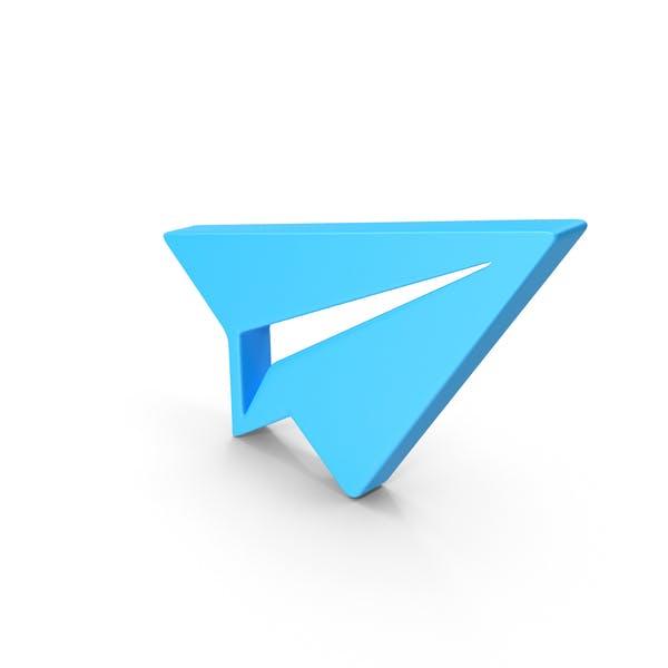Paper Plane Web Icon