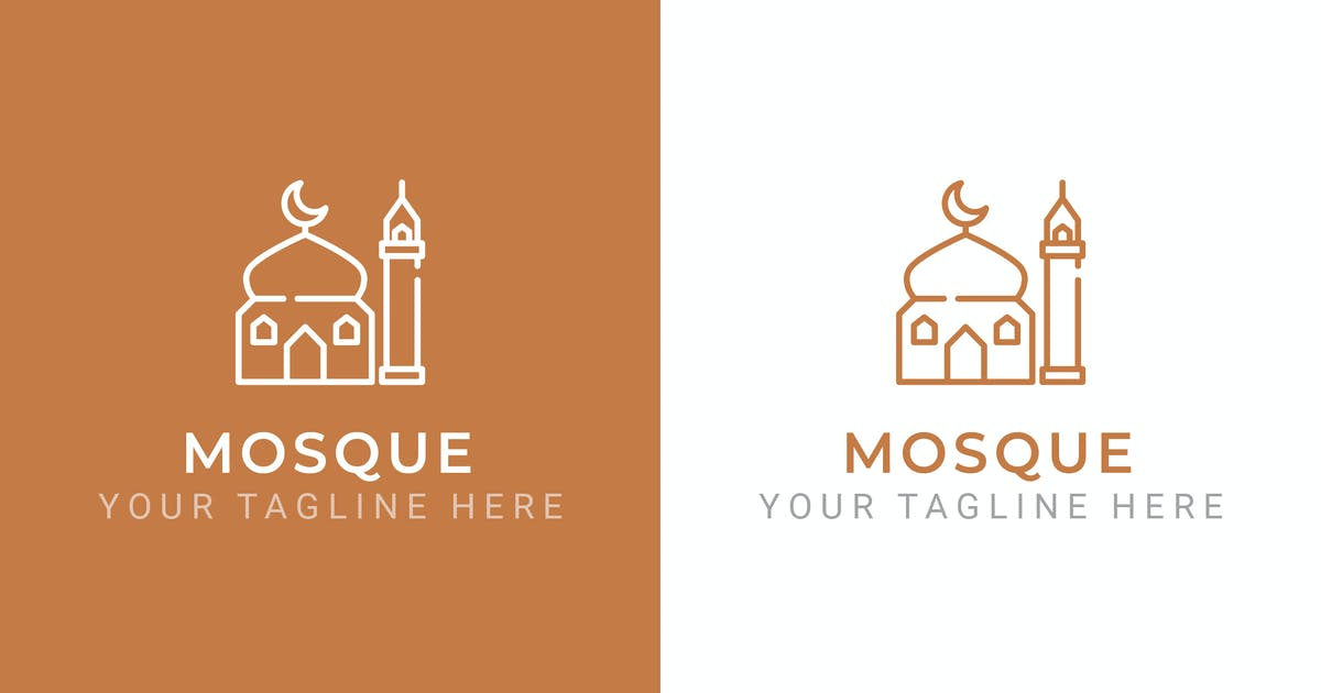 Download Mosque - Premium Logo Template by ThemeWisdom